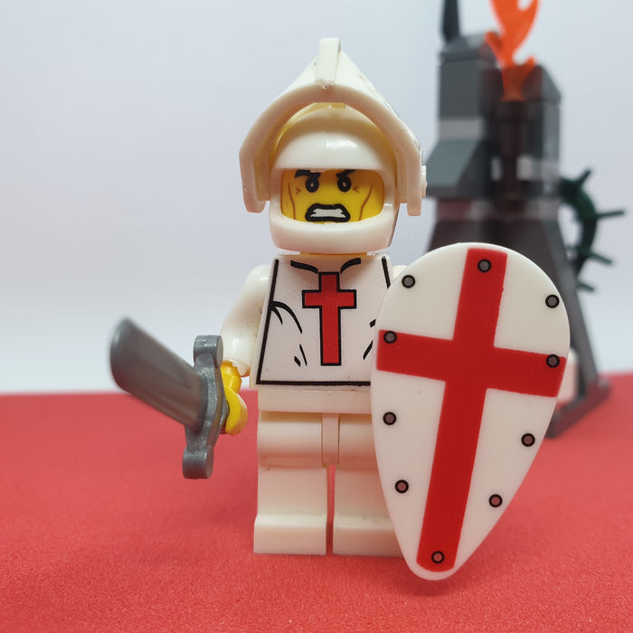 crusader minifigure
