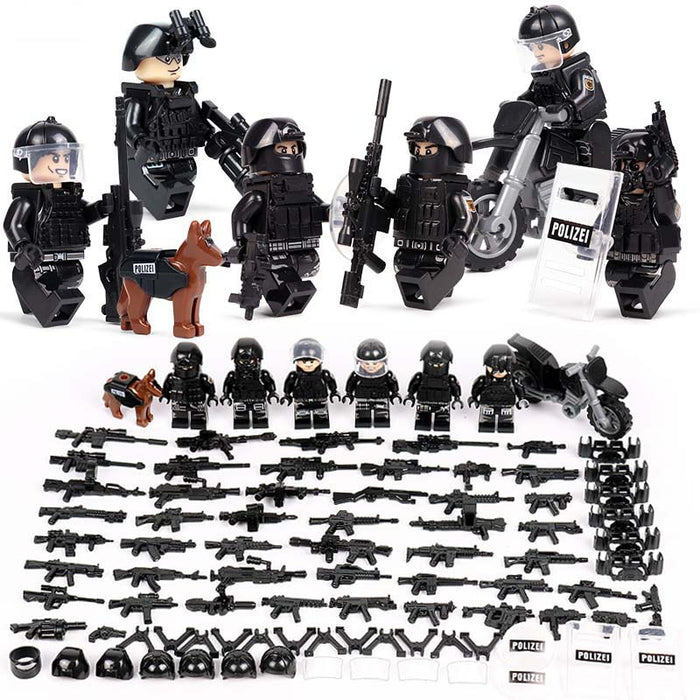 German Federal Police figures