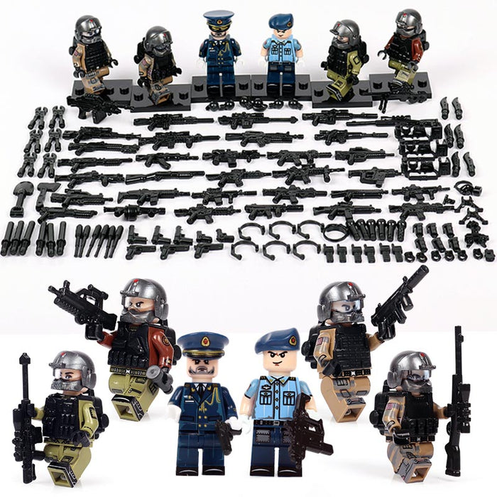 PLAAF airforce guards figures