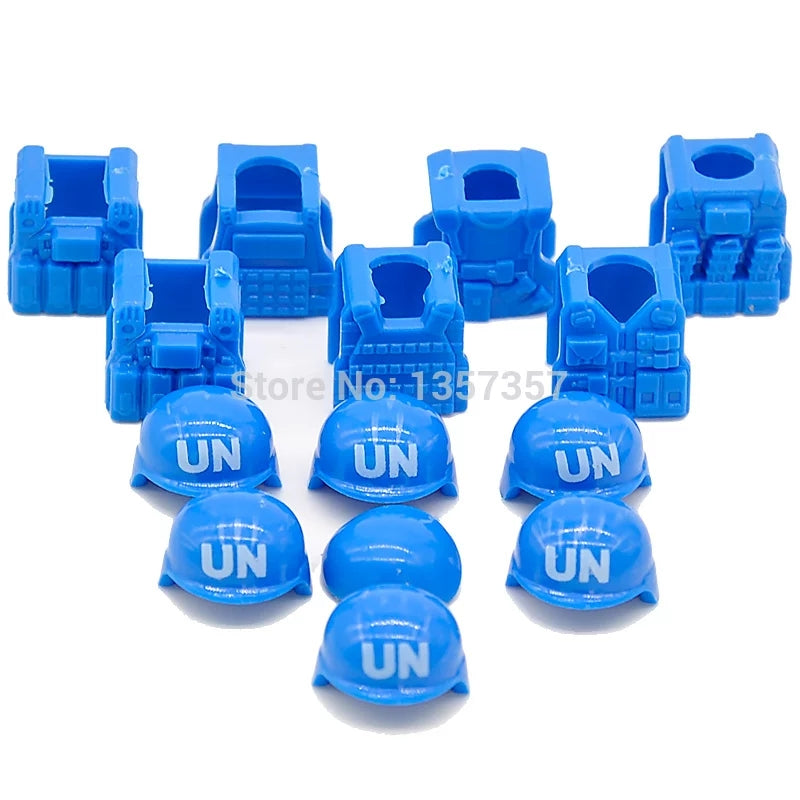 custom lego UN accessories body armour plates