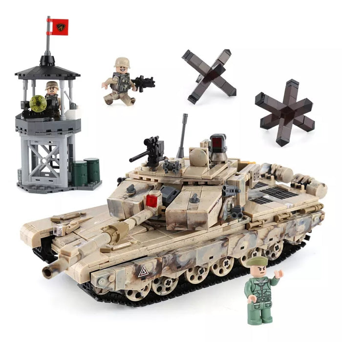 compatible lego Chinese Main battle tank