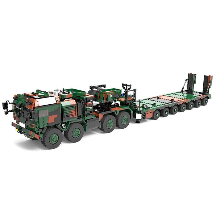 German Bundeswehr MAN HX81 Heavy Transport MOC