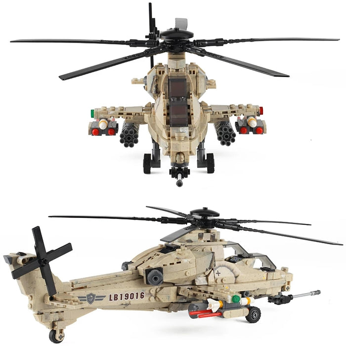 PLAGFAF WZ-10 Attack Helicopter custom kit