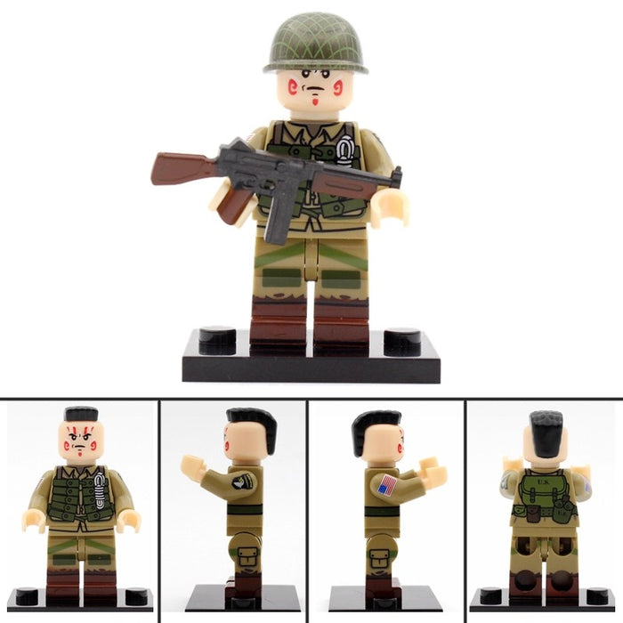 101st aribrone custom figure at brick block army