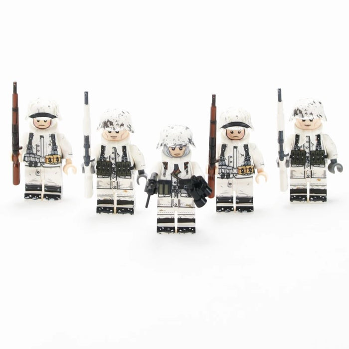 Custom brick built German 6th Army figures