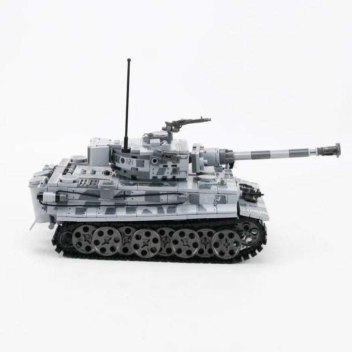 WW2 German Tiger H tank building kit