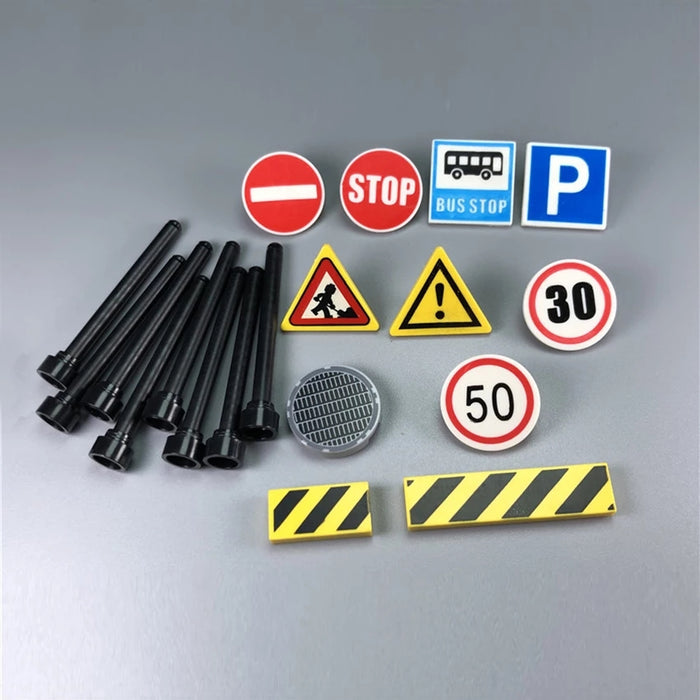Printed Road Signs