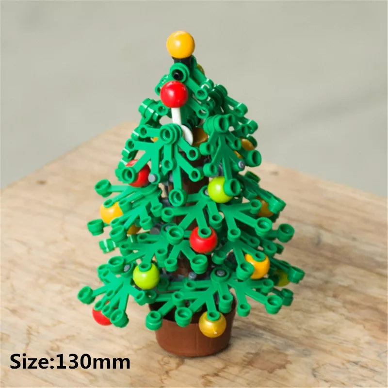 compatible legoing Humble Christmas tree