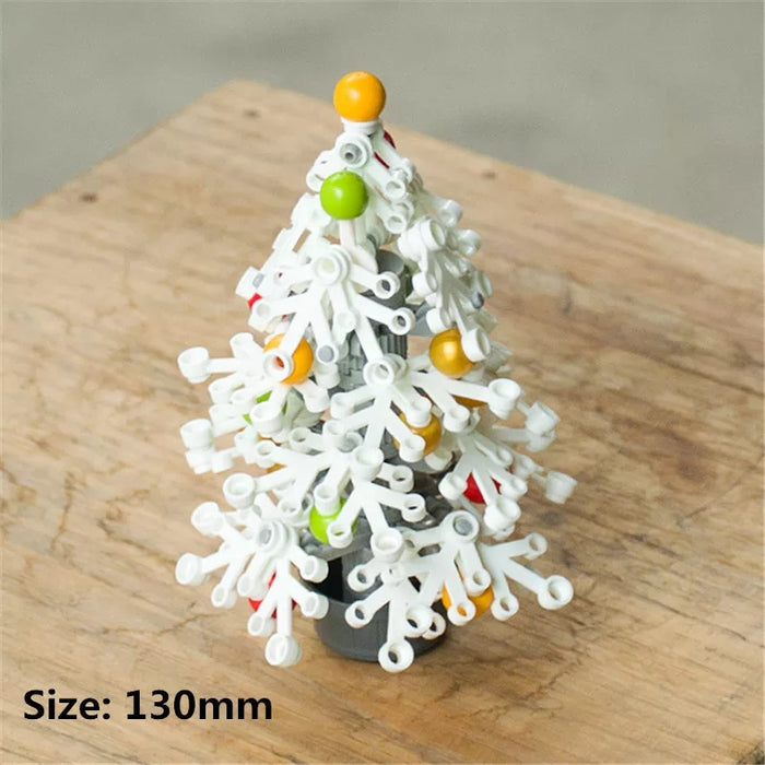 The Humble Christmas tree compatible lego bricks