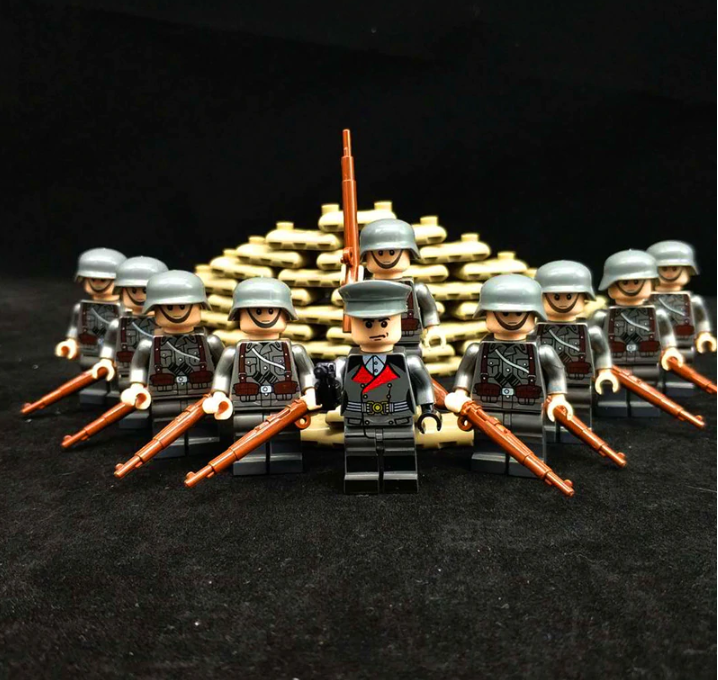 ww2 compatible lego army toys