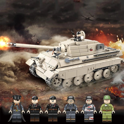 compatible lego German King tiger tank