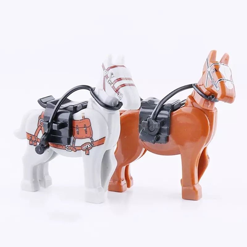 Military horses for figures