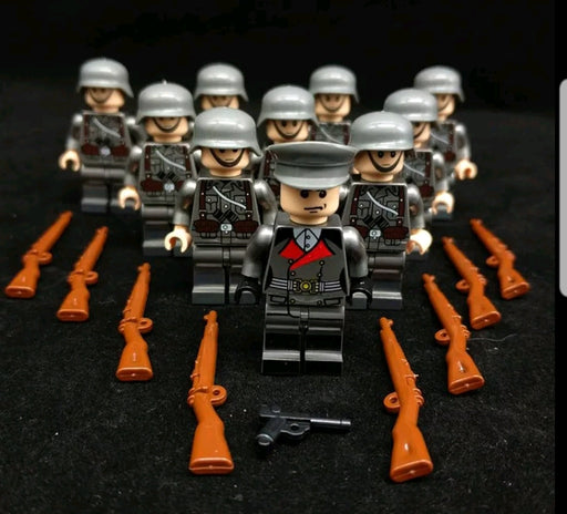 ww2 german army ww2 compatible lego army figures