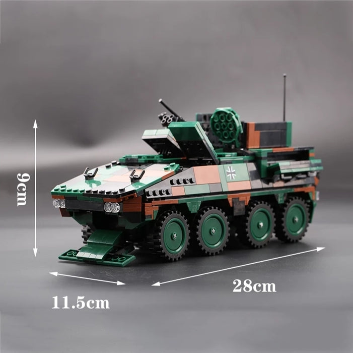 MOC German army Multi role troop transporter Boxer