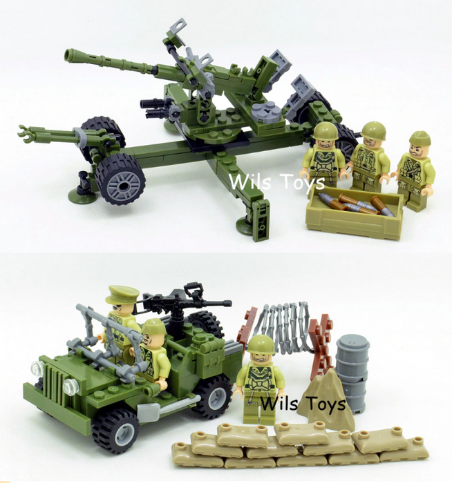 compatible lego usa army