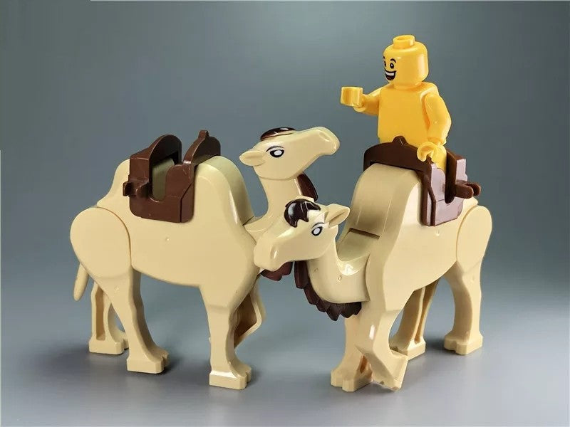 Custom brick built Mongolian Camel