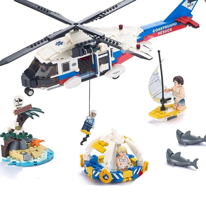 Coast Guard Rescue Helicopter MH-60 Jayhawk