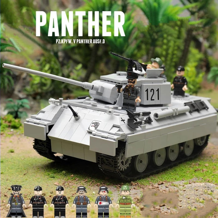 WW2 Panther AUSF.D Medium Tank