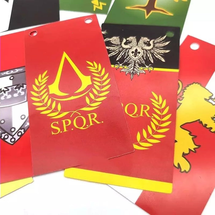 Custom SPQR Flag banner