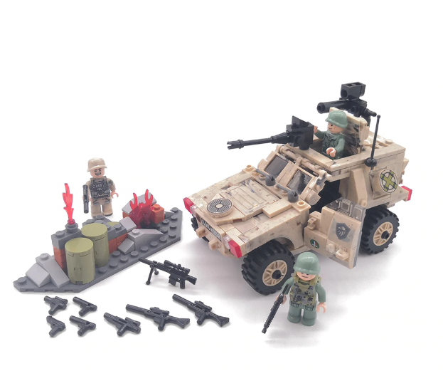 comaptible lego armoured personel carrier