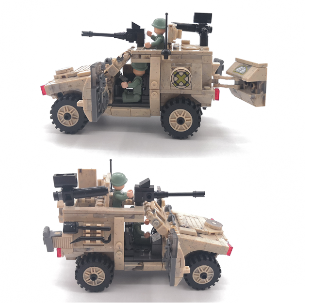 Delta Mulit-Role Armoured Personal Carrier (APC)