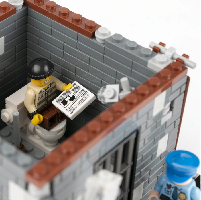 City Jail Cell MOC
