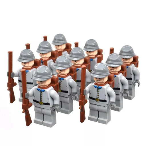compatible lego Confederate soldiers