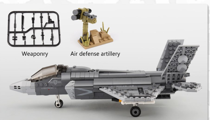 Us Ar y airforce toys