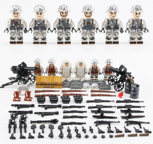 compatible lego German soldiers eastern front