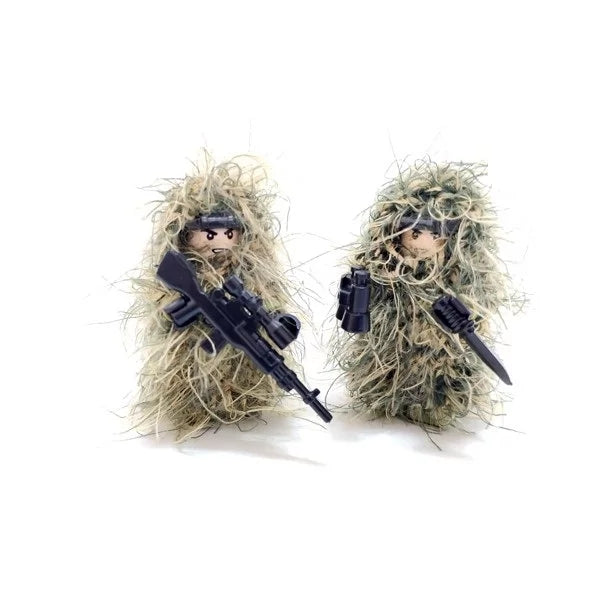 custom lego ghillie suits for minifigs