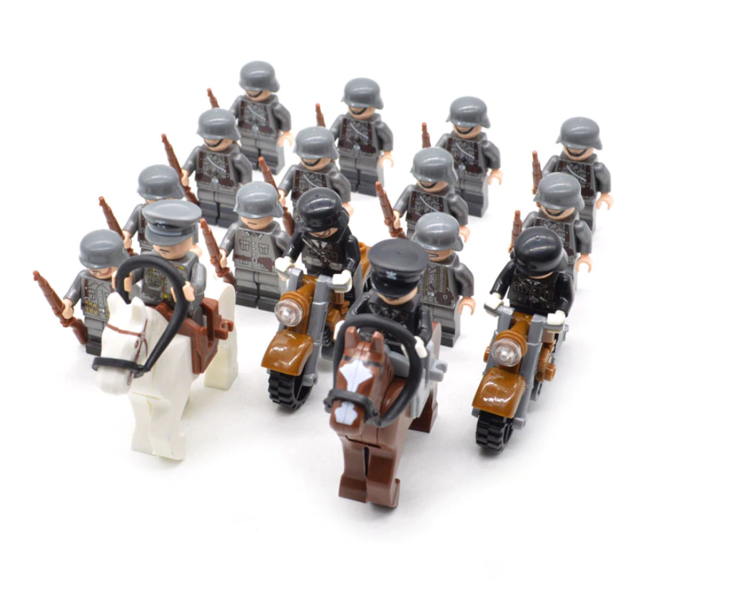 compatible lego mechanised German army