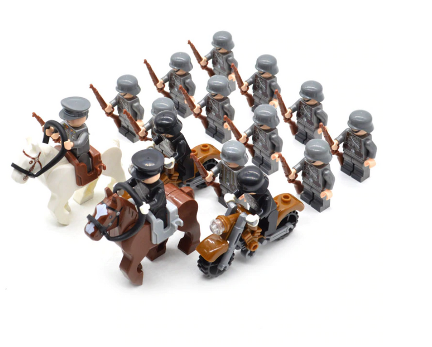 German mechanised infantry ww2 toys
