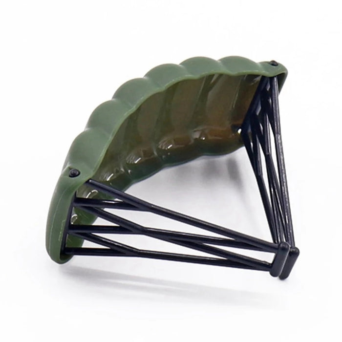 Olive Green Cruciform Parachute x1
