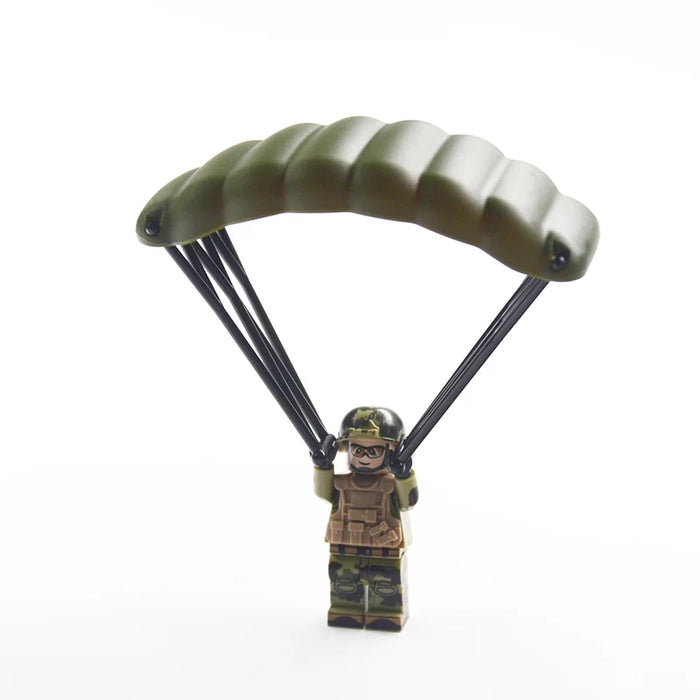 Custom bricks parachute