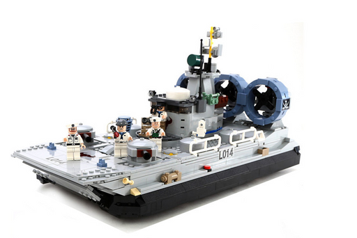 compatible lego Navy hovercraft