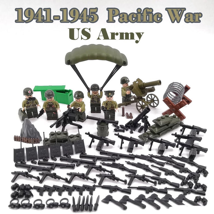 custom lego ww2 us army