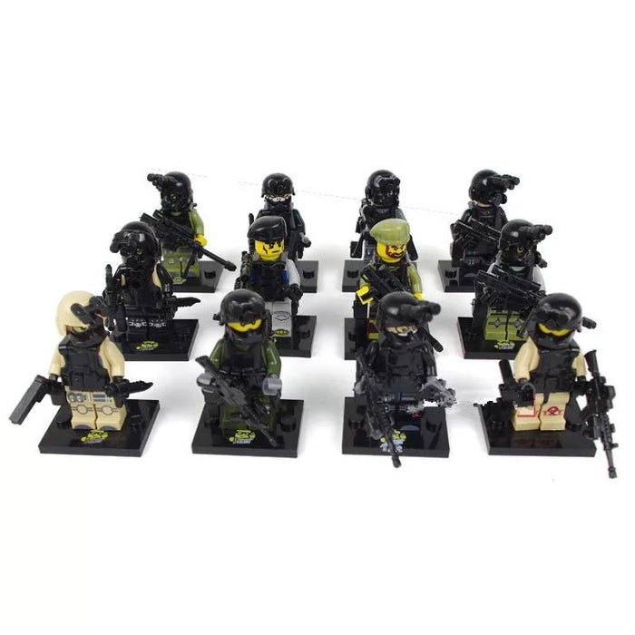 Army minifigures