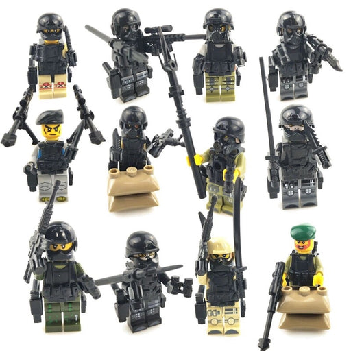 Elite army figures