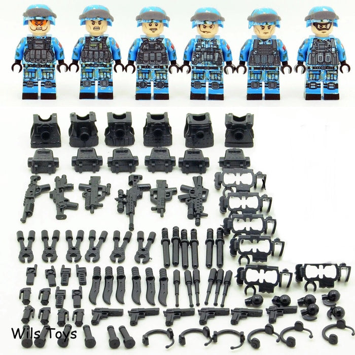 Chinese Army figures and toys