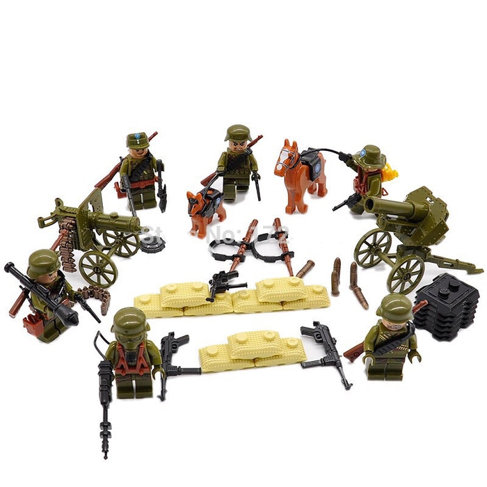 ww2 japenese army toys comaptible lego army figures