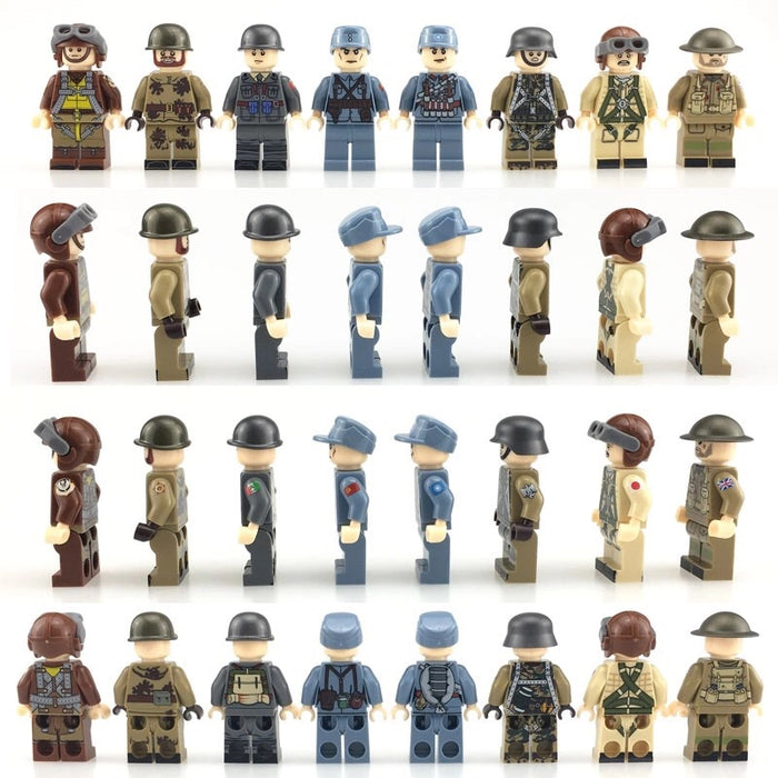 ww2 army figures