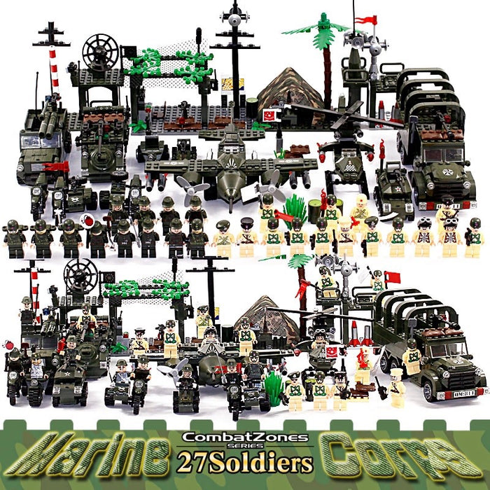 Army base play set toys