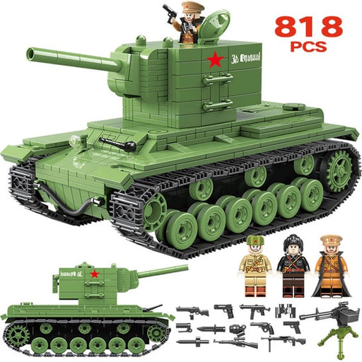 ww2 soviet army tank comaptible lego army