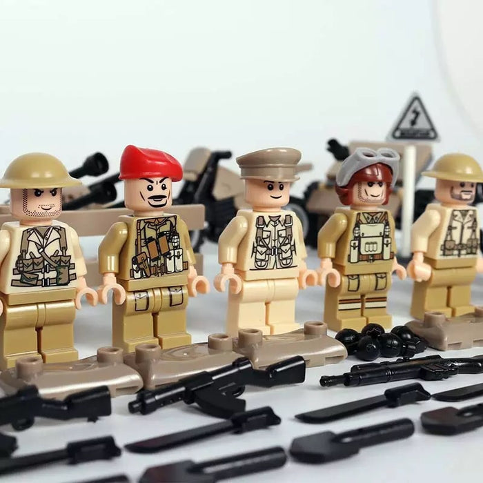 ww2 british army toys