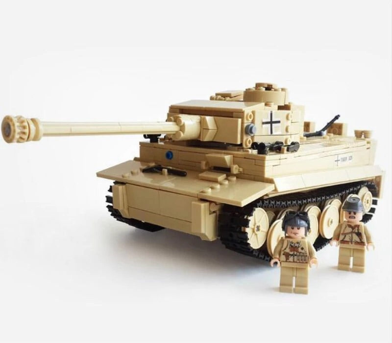 ww2 german army tank comparible lego army tank