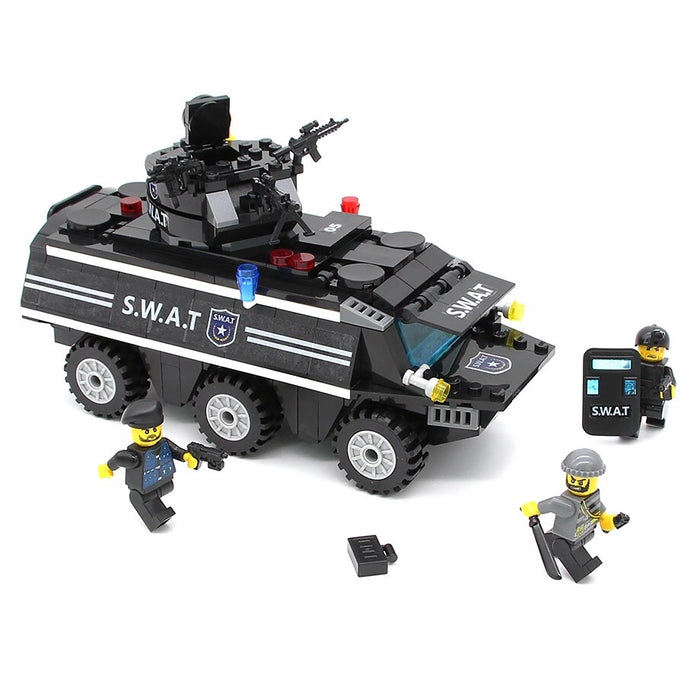 Police toy truck