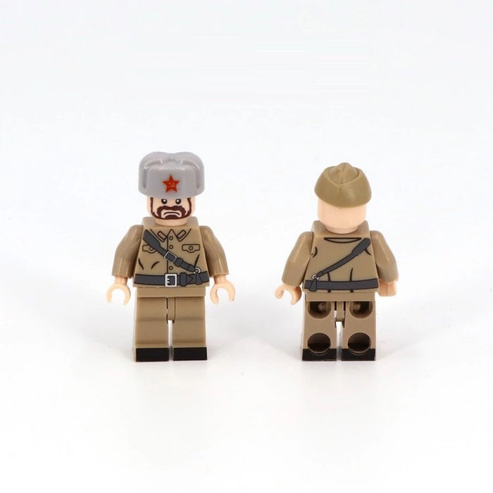 Army Figures Russian ww2 army figures minifigures