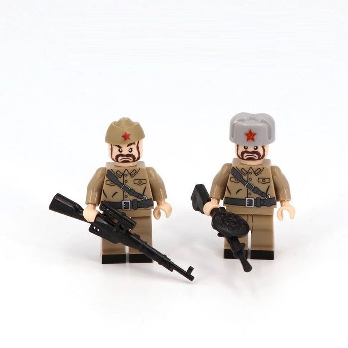 Toy Soldiers Soviet Army Figures