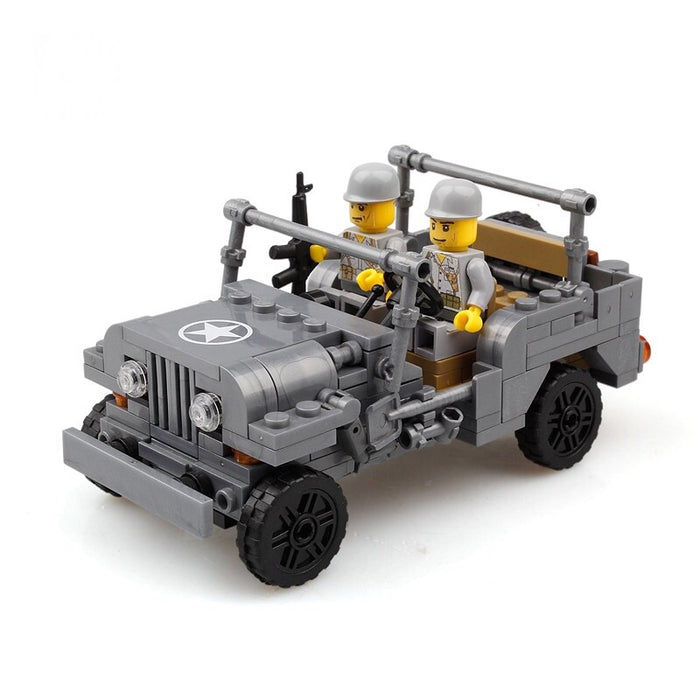 ww2 army toy jeep