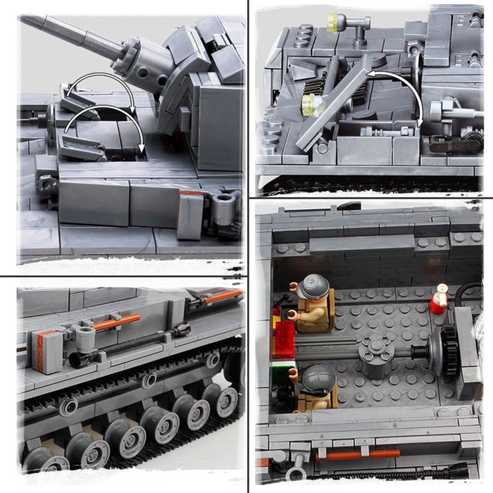 www compatible lego army tank